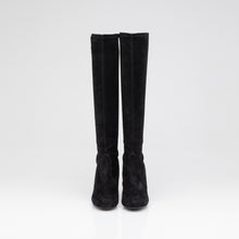 Load image into Gallery viewer, Stuart Weitzman | Black Tall Stiletto Boot | Size 8