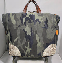 Load image into Gallery viewer, Ronald Furst | Camo Tote/Backpack