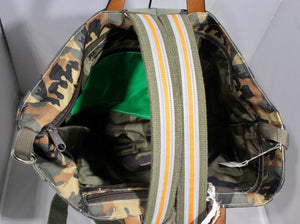 Ronald Furst | Camo Tote/Backpack