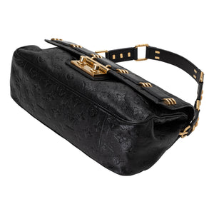 Louis Vuitton | Rubel Black Monogram Empreinte Leather Shoulder Bag