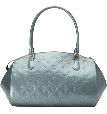 Sherwood GM Slate Blue Vernis MV Bag