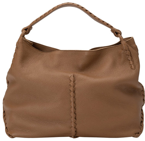 BOTTEGA VENETA | Washed Cervo Deerskin Large Hobo