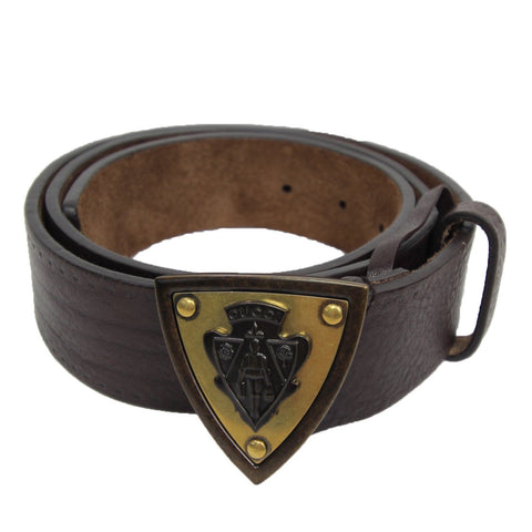 Gucci Hysteria Crest Leather Belt || Size 38