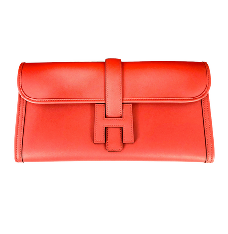 Jige Elan 29 Clutch in Rouge Tomate