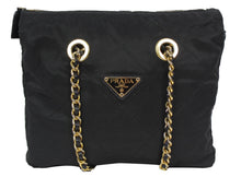 Load image into Gallery viewer, Prada | Tessuto Nylon Chain Shoulder Bag