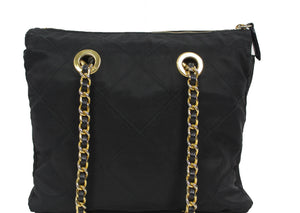 Prada | Tessuto Nylon Chain Shoulder Bag