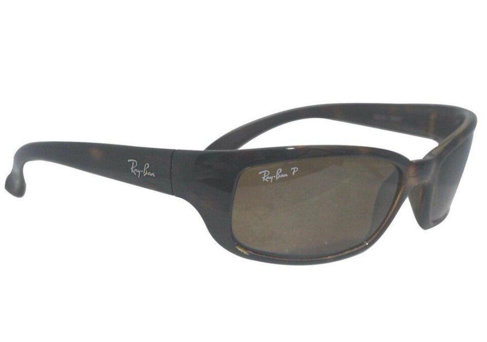 Ray Ban | RB4037 Tortoise Wrap around Polorized Sunglasses