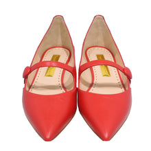 Load image into Gallery viewer, Rupert Sanderson | Red Pointed Toe Mary Jane's Sz 37
