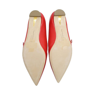 Rupert Sanderson | Red Pointed Toe Mary Jane's Sz 37