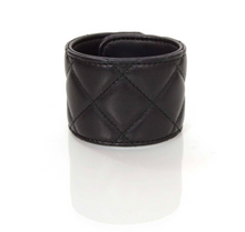 Load image into Gallery viewer, Chanel | Black Quilted Lambskin Rihanna CC Turn Lock Cuff