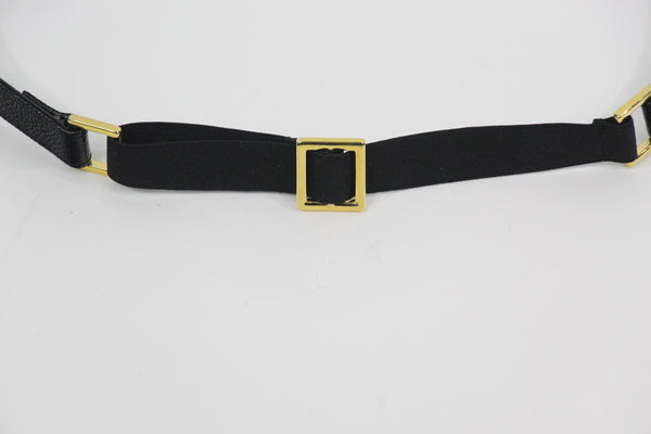 Black and Gold Belt