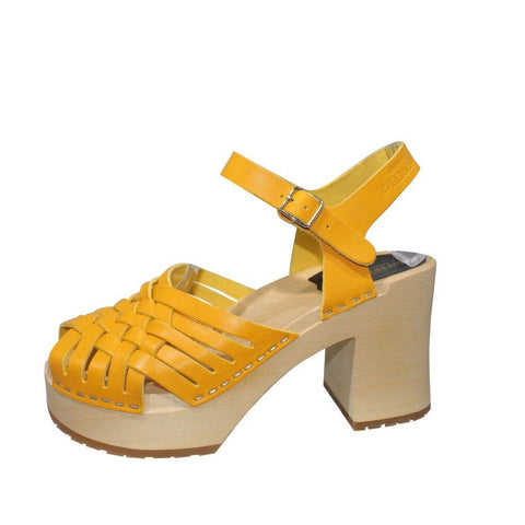 Hasbeens | Warm Yellow Marina Sandals | Size 7