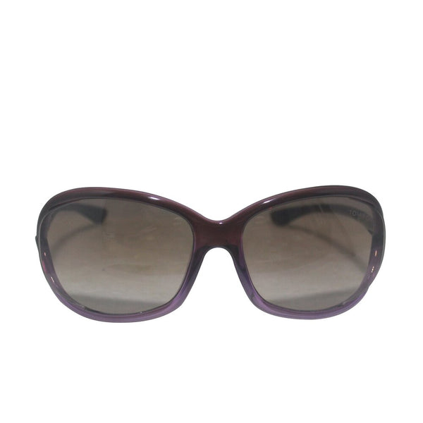 Purple Oversize Gradient Sunglasses LF 4086685