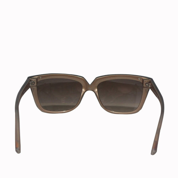 Valentino Garavani  |  Crystals Embellished Brown Sunglasses