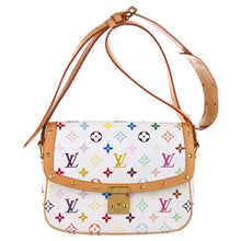Load image into Gallery viewer, Louis Vuitton | Sologne Multicolored Monogram on White Crossbody Bag