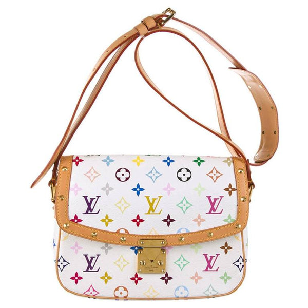 Louis Vuitton | Sologne Multicolored Monogram on White Crossbody Bag