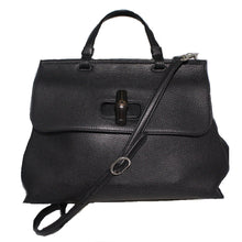 Load image into Gallery viewer, Gucci | Large Daily Bamboo Leather Flap Bag
