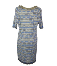 Load image into Gallery viewer, Eva & Claudi | Blue Knit Dress Sz M