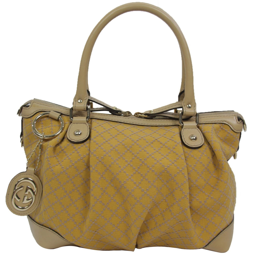 Gucci | Diamante Medium Top Handle Sukey Yellow