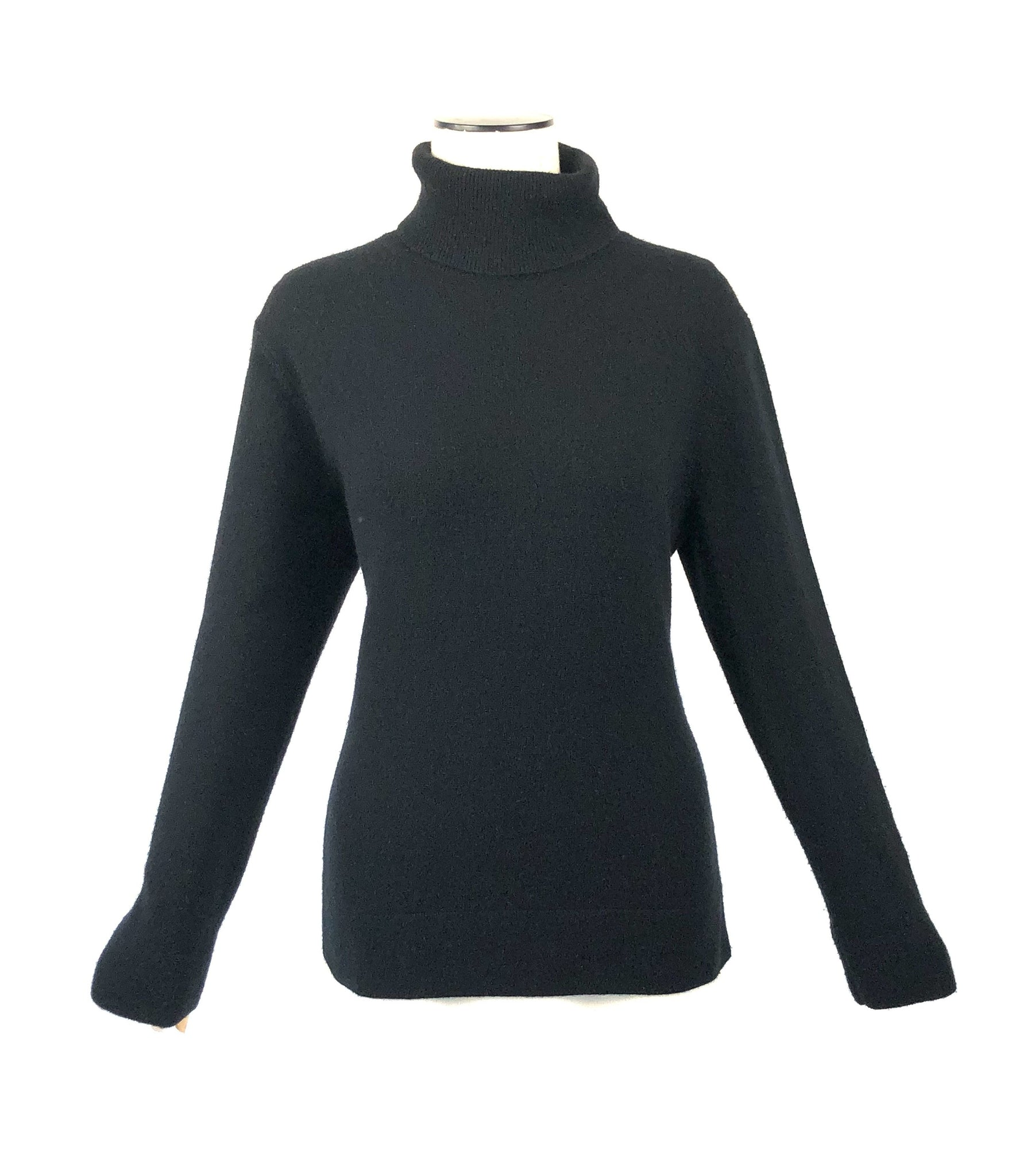 The Cashmere Collection Turtleneck Sweater | Size XL