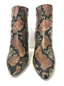 Aquatalia | Posey Snake Ankle Bootie Size 8.5