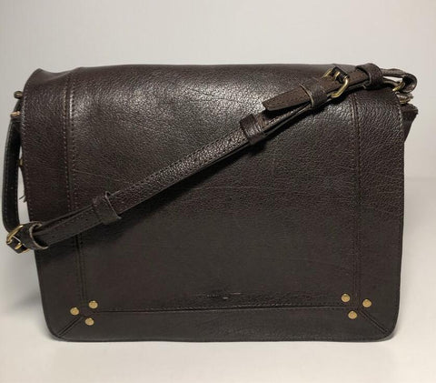 Igor Goatskin Leather Shoulder Bag - Crossbody Bag - Messenger Bag