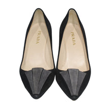 Load image into Gallery viewer, Prada | Suede heel Sz 7