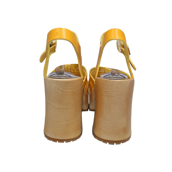 Hasbeens | Warm Yellow Marina Sandals | Size 10