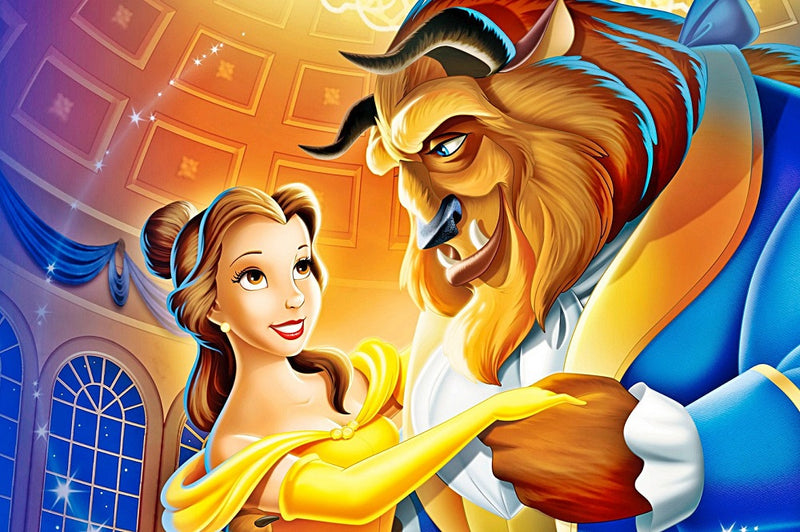 Diamond Painting Disney Belle en het beest
