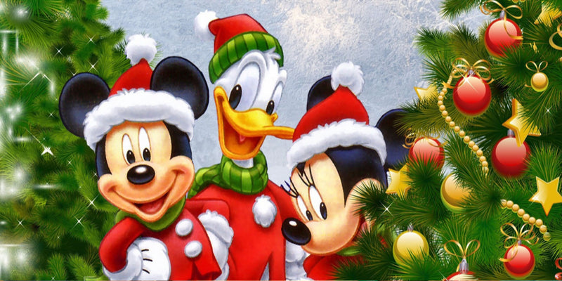 Diamond Painting Disney kerst