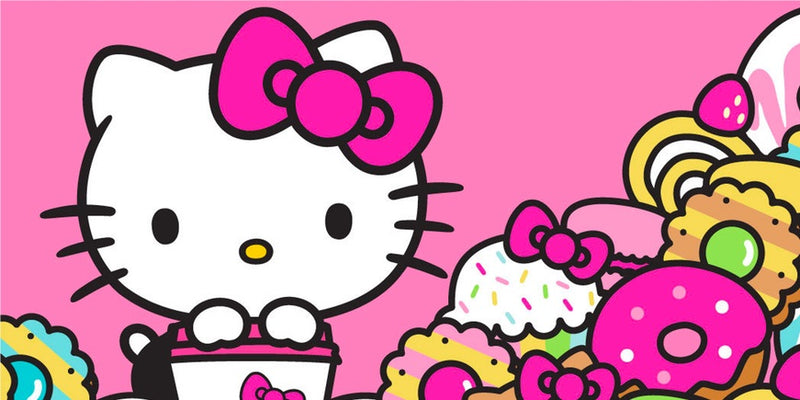 Diamond Painting Hello Kitty cupcake