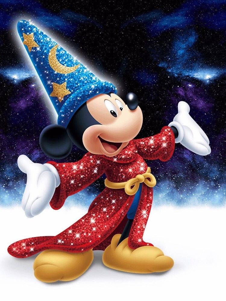 Diamond Painting Mickey Mouse tovenaar