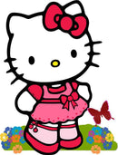 Diamond Painting Hello Kitty vlinder