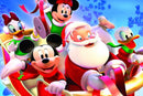 Diamond Painting Disney kerst slee