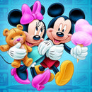 Diamond Painting Mickey en Minnie Mouse