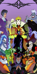 Diamond Painting Disney Villains
