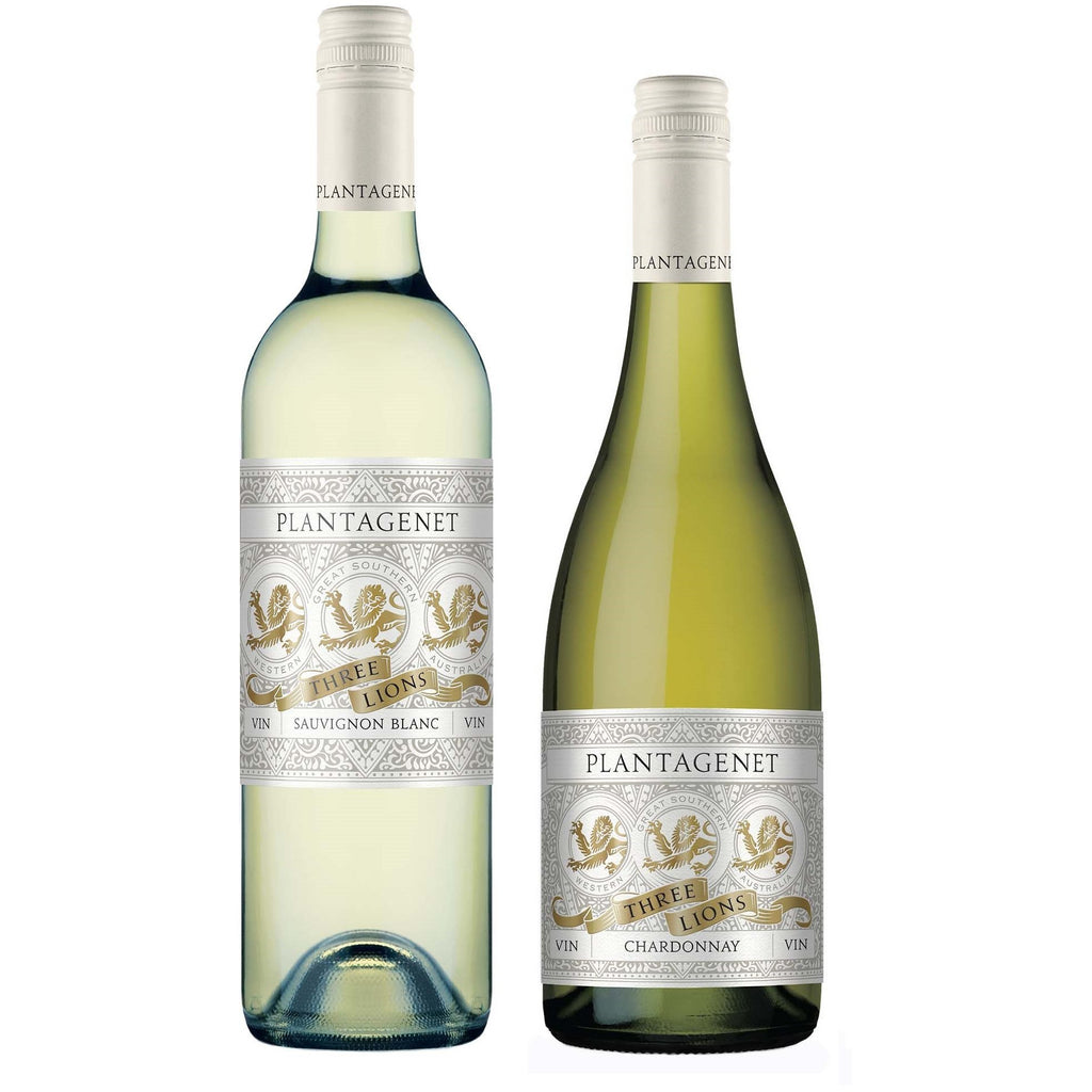 "The ""Great Southern White Wine"" Bundle - Pack of TWO Premium Australian White Wines from Plantagenet - Chardonnay, and Sauvignon Blanc (75CL)"