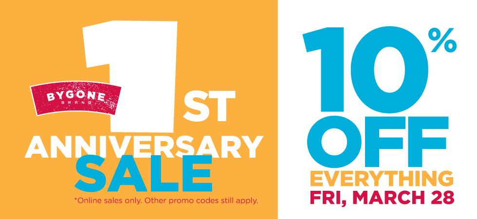 Our 1st Anniversary Sale