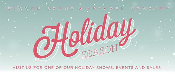 Holiday Shows & Sales