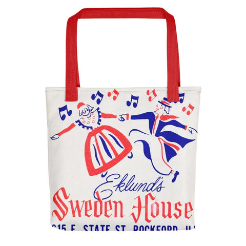 Sweden House Lodge Tote Bag