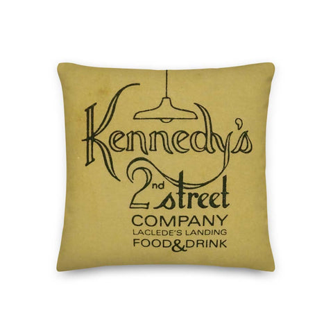 Kennedy's 2nd Street Pillow