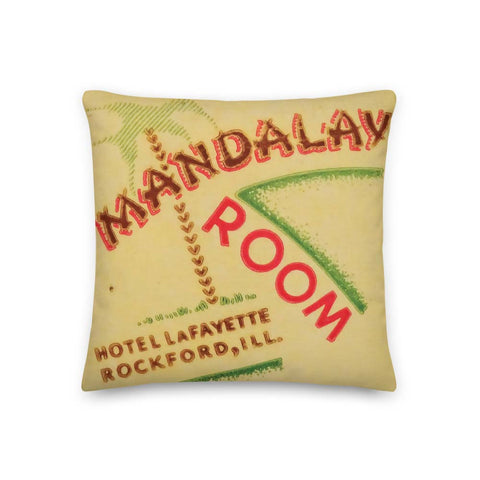 Mandalay Room Rockford Pillow