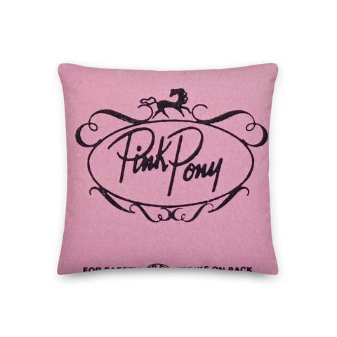Pink Pony Pillow