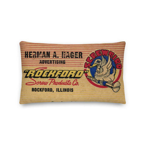 Rockford Screw Products Pillow