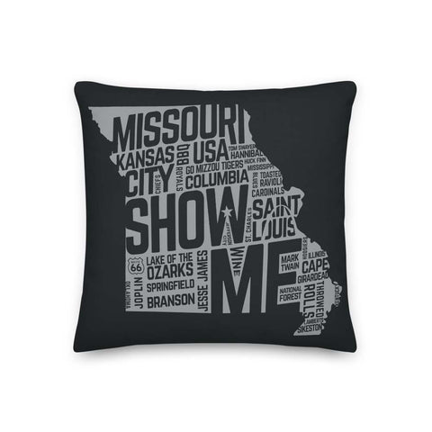 Show Me Missouri Pillow