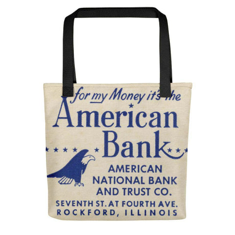 American Bank Tote Bag