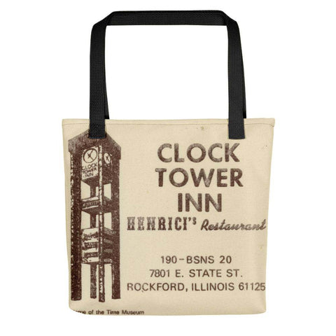 Clock Tower Inn Tote Bag