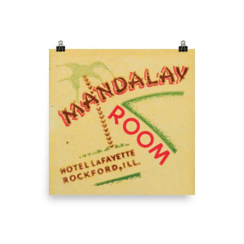 Mandalay Room Poster