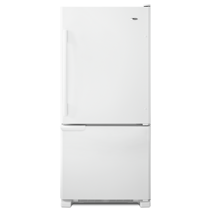 Amana® 18.5 cu. ft. Bottom-Freezer Refrigerator ABB1921BRW