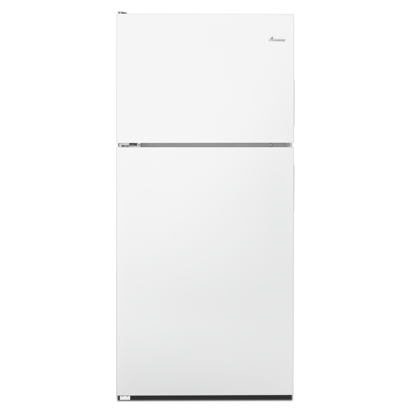 Amana® 18 cu. ft. Top-Freezer Refrigerator with Electronic Temperature Controls ART318FFDW